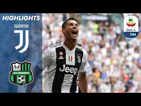 Juventus 2-1 Sassuolo   Ronaldo Scores First Juventus Goals   Serie A_A héten feltöltött legjobb sport videók