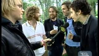 Brendan Canning & Kevin Drew are interviewed by MuchMusic Canada. Special cameos by Tim Fletcher & Dave Hamelin of The Stills. Credit goes to Broken Social S...