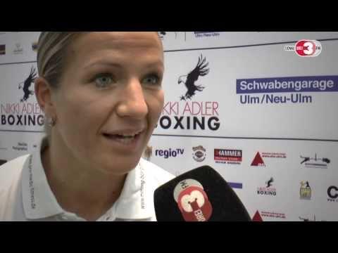 Box-Weltmeisterin Nikki Adler besteigt den Ring bei GZSZ