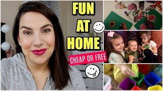 10 AT-HOME PRESCHOOL ACTIVITIES- No Cost/Low Cost by Beauty Broadcast
