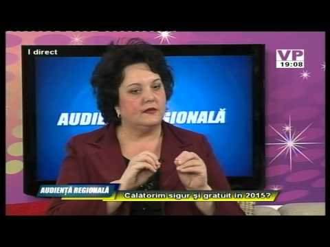 Emisiunea Audiență Regională – Ionelia Enescu – 11 martie 2015