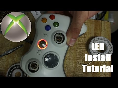 How To Change Leds On An Xbox 360 Controller