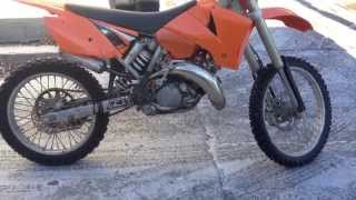 6. How to change oil on a KTM 125 Sx