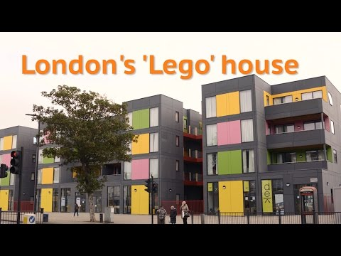 These 'Lego' homes are helping to house London's homeless