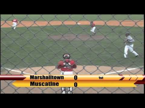 Video Replay: Marshalltown Baseball vs. Muscatine (4/24/2016) Game 2