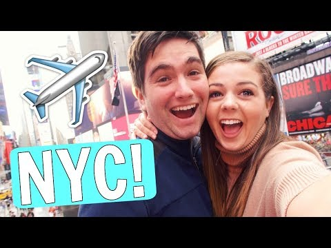 FIRST TIME IN NEW YORK CITY TOGETHER!!