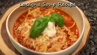 Send a tip: https://twitch.streamlabs.com/orsararecipesPatreon: https://www.patreon.com/orsararecipesLearn to make this delicious Lasagna soup recipe!Written recipe: http://orsararecipes.net/lasagna-soup-recipe Support OrsaraRecipes for FREE by doing your Amazon shopping through this link (bookmark it!): http://www.amazon.com/?tag=orsararecipes-20~Social Networks~Facebook: https://www.facebook.com/OrsaraRecipesTwitter: https://twitter.com/OrsaraRecipesGoogle+ https://plus.google.com/u/1/+OrsaraRecipes/posts~My PO Box info~PO BOX 4129 Long Branch NJ station B 07740