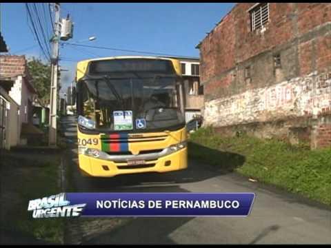[BRASIL URGENTE PE] Moradores do Parque Capibaribe, em Sãou Lourenço da Mata, reclamam do transporte público
