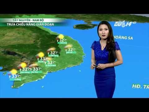 (VTC14)_Thời tiết 6h ngày 25.04.2017