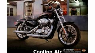 10. 2011 Harley-Davidson Sportster 883 SuperLow -  Top Speed Specification Transmission motorbike