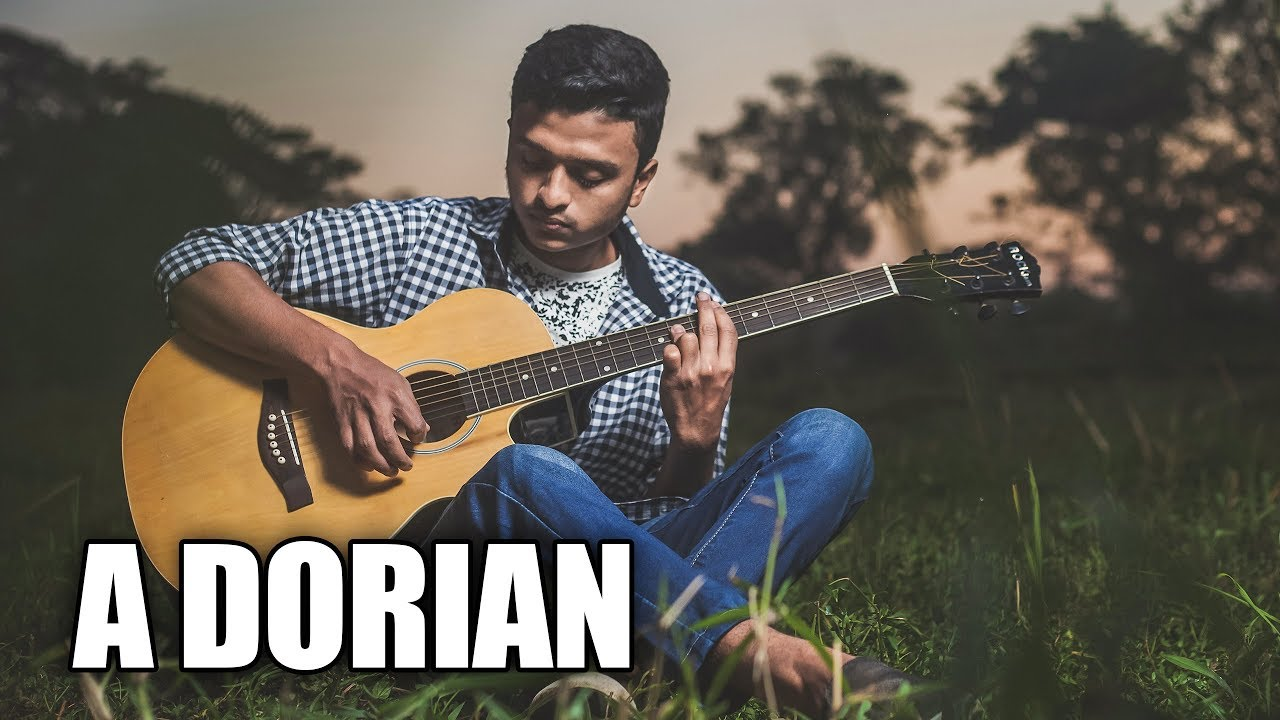 Acoustic Guitar Backing Track In A Dorian