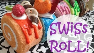 How to Make a Swiss Roll Squishy! - YouTube