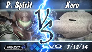 PM@Evo2014 Day 2 Side Tournament: P.Spirit (Samus) vs Xero (Olimar)