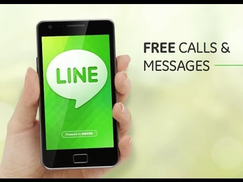 LINE App for Android Phones – ( How to Download , Install , Configure, Call and Chat with LINE ).
