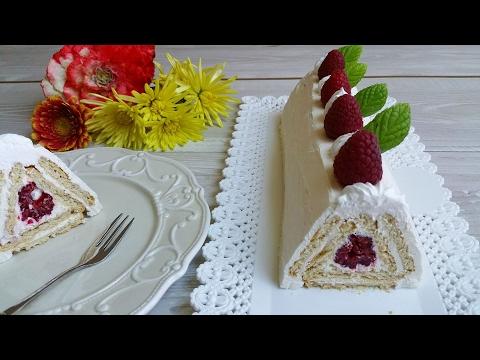 torta piramide senza cottura - la video ricetta