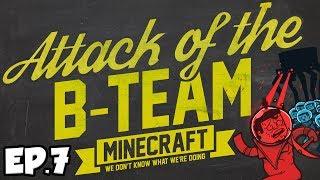 Attack Of The B-Team Ep.7 - Ewok Village Bridge! (B-Team Modpack)