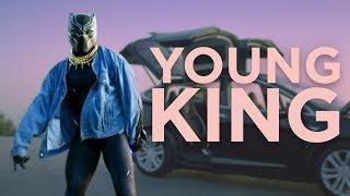Young King - Black Panther Jaden Smith Parody (Nerdist Presents)