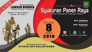 Video SYUKURAN PANEN RAYA DESA COMPRENG 08-05-2018   MALAM MP3, 3GP, MP4, WEBM, AVI, FLV Agustus 2018