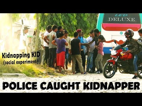 (Kidnapping KiD || Police Caught Kidnapper || Social Experiment - Duration: 10 minutes.)