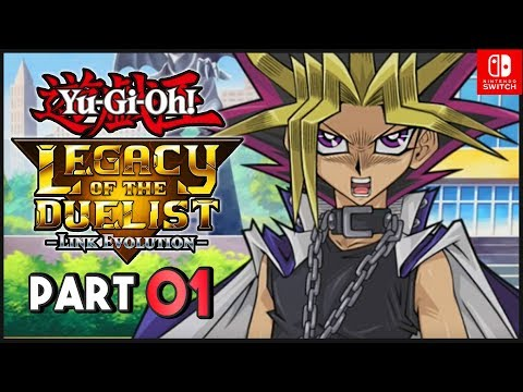 Yu-Gi-Oh! Legacy of the Duelist Link Evolution ENGLISH Nintendo Switch Part 1 Gameplay Walkthrough