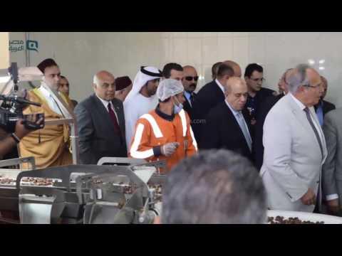 مصر العربية | محافظ مطروح يفتتح مصنع للتمور بسيوة