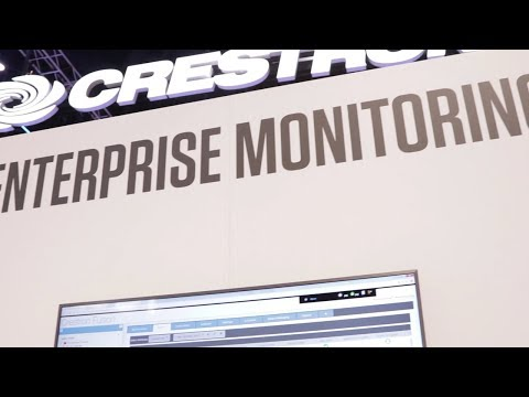 Crestron Fusion® Enterprise Monitoring at InfoComm 2017