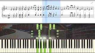 Video China National Anthem [HD piano tutorial] MP3, 3GP, MP4, WEBM, AVI, FLV Juni 2018