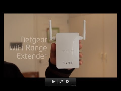 netgear - http://livetechau.com - The NETGEAR Universal WiFi Range Extender effectively doubles the operating distance of your entire wireless network and conveniently...