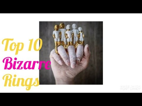 top 10 unusual rings 2017 never seen before || creative and unusual ring designs || unique rings