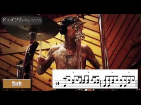Travis Barker - Warm Up Beat | Drum Lesson
