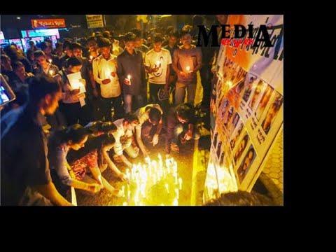 Maharashtra's NSUI units protest against Pulwama terror attack