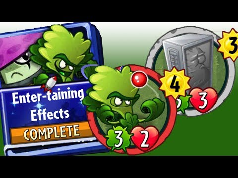 Plants vs Zombies Heroes Gameplay : NightCap Strategy Deck Enter-Taining Effects Molekale
