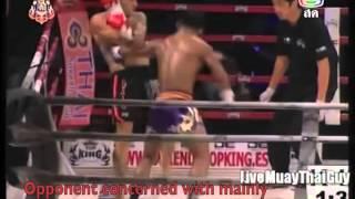 Buakaw's Devastating Body Left-Hook Knockout
