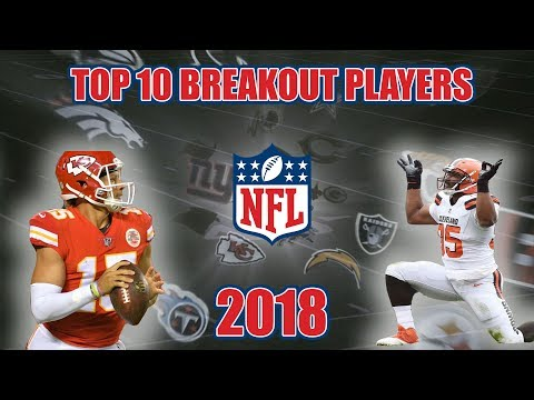 Top 10 NFL 2018 Breakout Players (видео)