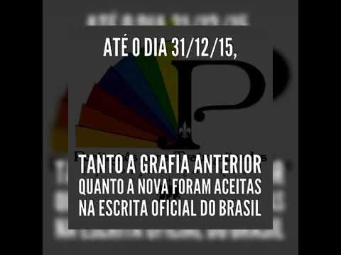 Drops da Língua | Grafia Anterior e Nova pelo Novo Acordo Ortográfico | Português para Traumatizados