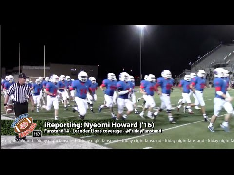 Fanstand '14 Week One coverage - Leander Lions