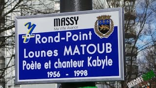 Massy France  City pictures : ⵣ ROND POINT MATOUB LOUNES à MASSY 91 EN FRANCE LE 24.01.2015 ⵣ