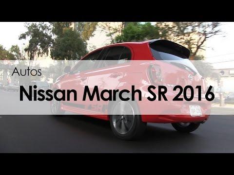 Nissan March SR 2016: Reseña (видео)