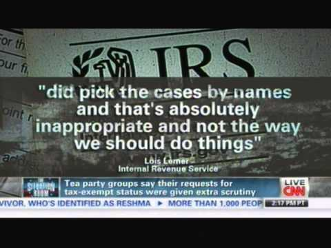 IRS Admits it Targeted Tea Party Patriots – Jenny Beth Martin discusses on CNN 051013