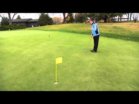 Professional Golf Tip: How to Read a Downhill Putt