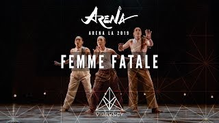 Femme Fatale (Dassy, Lily Frias, Marie Poppins) – Arena LA 2019