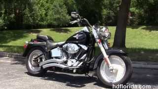 8. Used 2005 Harley Davidson FatBoy Motorcycles for sale in New Port Richey FL