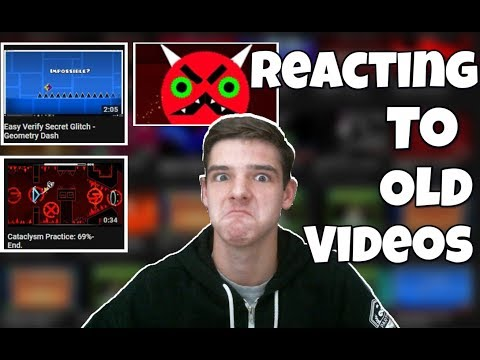 REACTING To My TERRIBLE Old Videos...