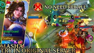 Masha Try In Original Server - Mobile Legends Bang Bang