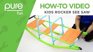 Pure Fun | How-To Video: Kids Rocker See Saw
