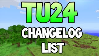Minecraft (Xbox360/PS3) - Title Update 24 - Full Changelog List + All Console Features!