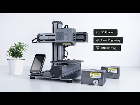 Snapmaker : The 3-in-1 3D Printer