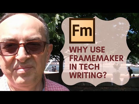 Why Use FrameMaker in Technical Writing?