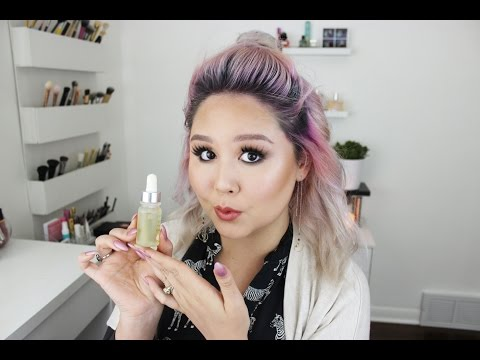 COVER FX Custom Infusion Drops Radiance Lemongrass Review & Demo | Jessica Kent