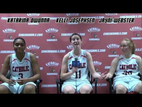 Lady Cardinals beat Cabrini 52-44 in NCAA Round 1